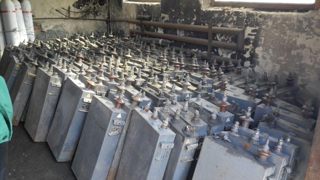 Отработанные конденсаторы